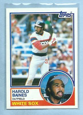 24 Cards 1983 Fleer AL West Champion Chicago White Sox Team Set with Carlton Fisk /& Harold Baines