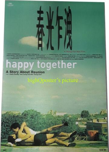 ORIGINAL HAPPY TOGETHER 27x40 DS POSTER Kar Wai Wong Leslie Cheung Tony Leung 20