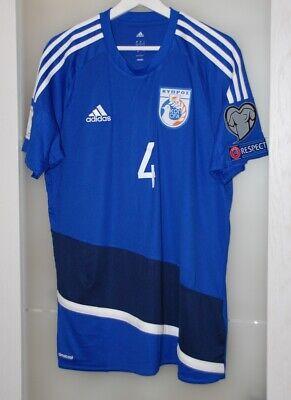 Match worn shirt Cyprus national team World cup 2018 APOEL Nicosia size L image