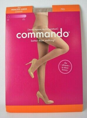COMMANDO Better than Nothing Diana Large The Princess Sheer Control