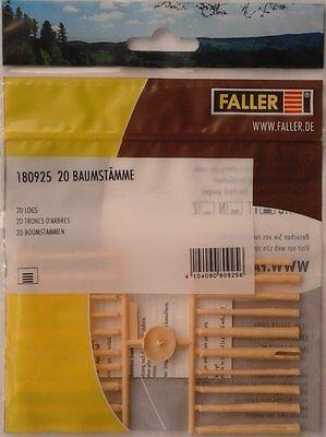 FALLER 180925 Logs (20) 00/H0 Plastic Model Rail Accessories