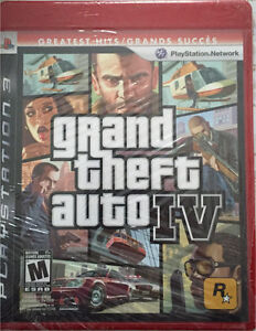 GRAND THEFT AUTO IV et EYEPET FOR PS3 NEW NEVER USED