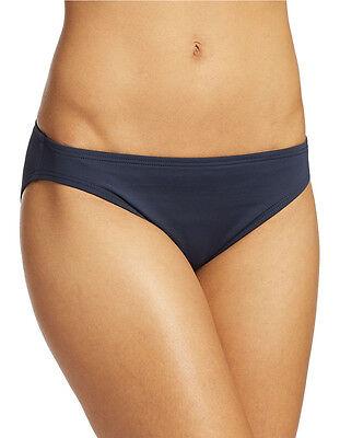 NEW Michael Kors New Navy Solid Classic Hipster Bikini Bottom S Small MM1A142