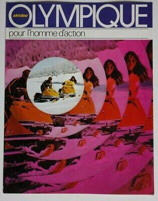 Vintage - Ski Doo Olympique