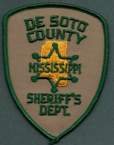 De Soto County Mississippi Sheriff Police Patch