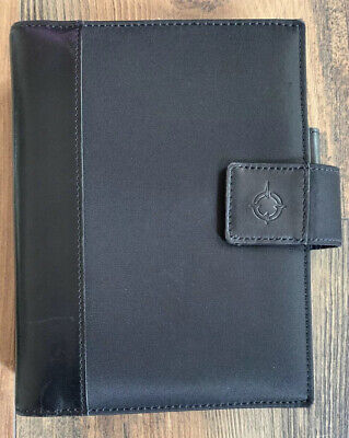 Franklin Covey Micro Fiber With Leather Trim Compact Size