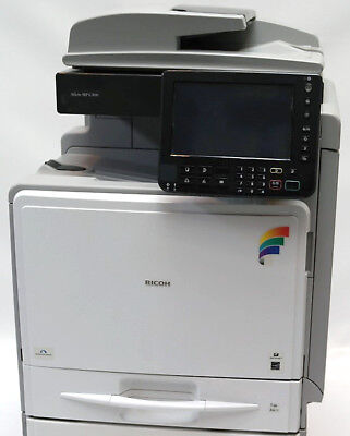 Ricoh Aficio Mp C300 A4 Color Laser Printer Copier Scanner Mfp 32ppm C400 C401