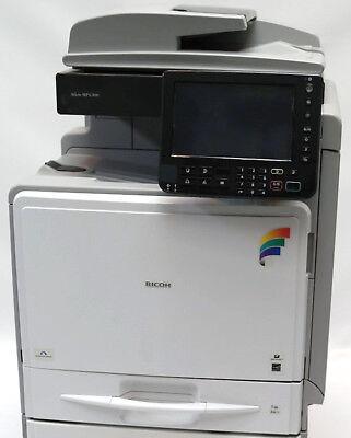Ricoh Aficio Mp C300 A4 Color Laser Copier Printer Scanner Mfp 32 Ppm C400 C401