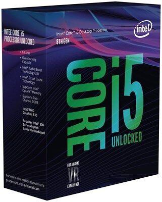 NEW! Intel Core i5-8600K Coffee Lake 3.6 GHz(up to 4.3GHz) LGA 1151 Processor