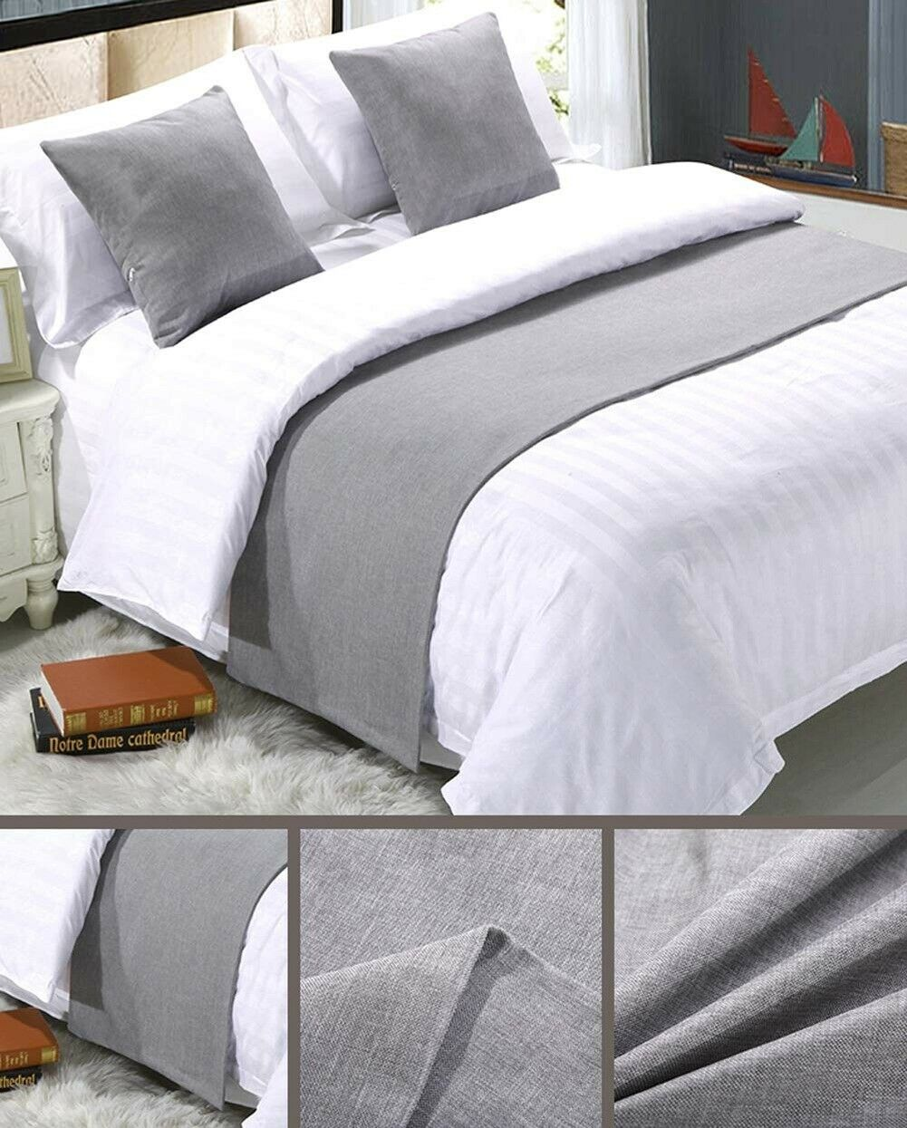 Runner Scarf Protector Sofa Bed Decorative Scarf for Bedroom
