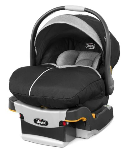 Chicco Keyfit 30 Zip Infant Child Safety Car Seat & Base Black 4 - 30 lbs NEW