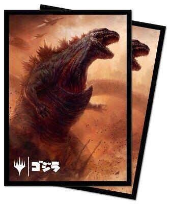 MtG Ikoria Alternate Art Godzilla Doom Inevitable Standard Card Sleeves