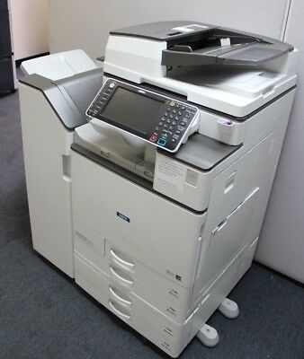 Ricoh Savin MP C5503 Color Multi function Laser Copier Printer Scanner Finisher