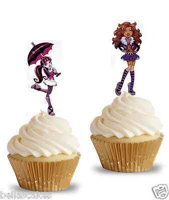 Tortenaufleger Monster High Eßbar NEU Tortenbild Party Dekoration Geburtstag  (Monster High Kuchen Dekoration)