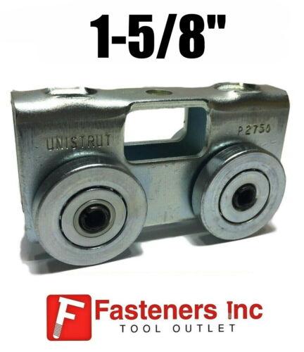"(Qty 1) Genuine Unistrut P2750-EG 4 Wheel Trolley for All 1-5/8""Strut Channel"