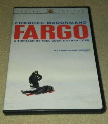 Fargo (Special Edition) DVD *HORROR *HALLOWEEN - Fargo Halloween