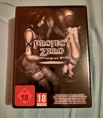Project Zero Maiden Of Black Water Nintendo Wii U Limited Edition Rare PAL