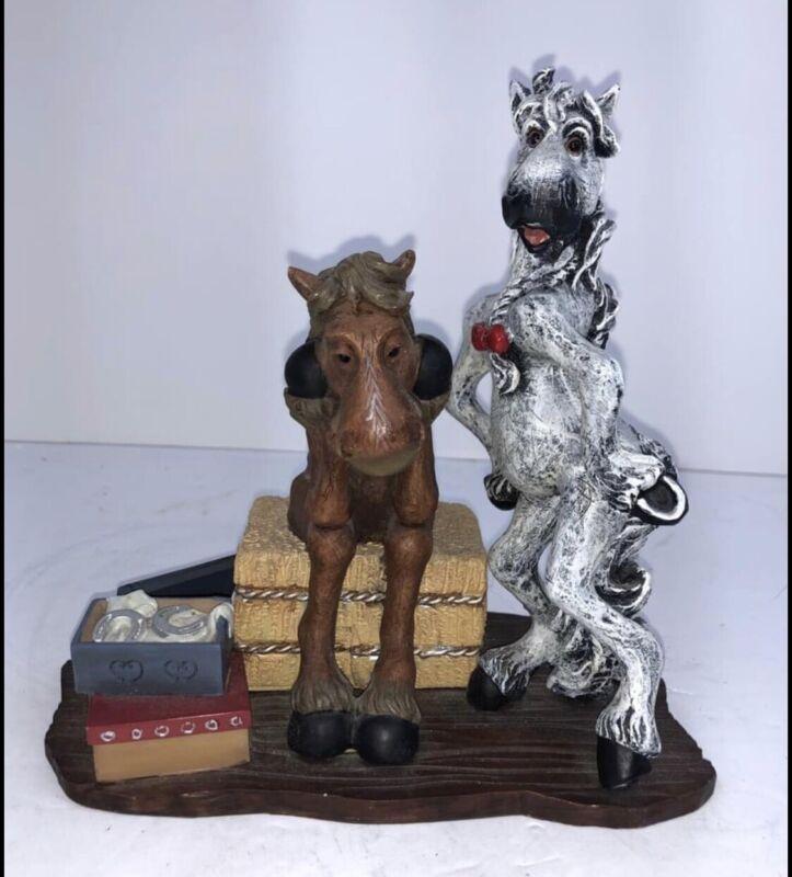 Montana Silversmith Lifestyles Elmer And Ellie Horse Figurine
