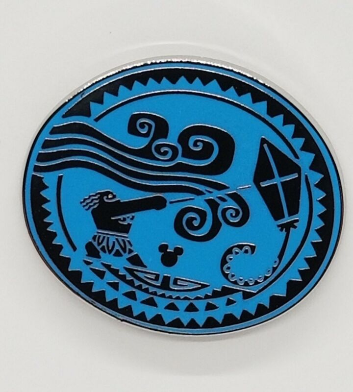Disney Pin 2018 Hidden Mickey - Maui Tattoo WIND & KITE #131173 TRADE