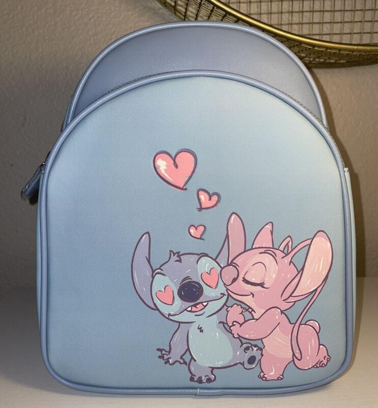 Loungefly Disney Lilo & Stitch STITCH and ANGEL Backpack New