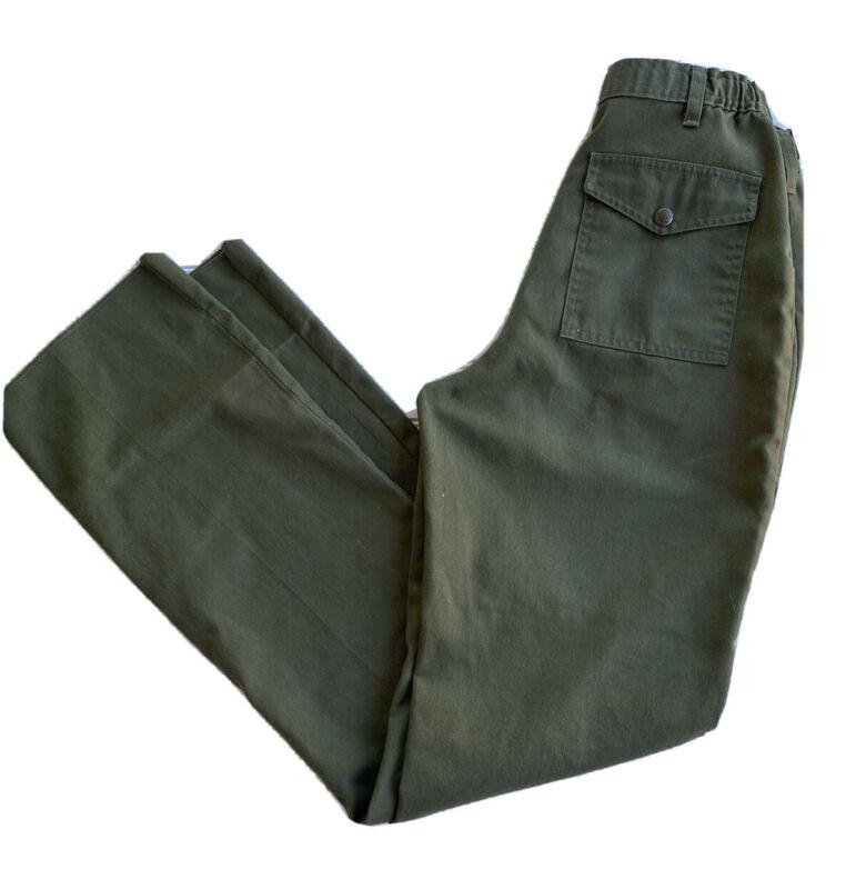 Official Boy scout's Of America  Uniform Pants Size 18 Size 29 Waist Boyscout