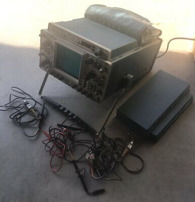 Tektronix 465b Dual Oscilloscope With Dm 44 Digital Multimeter Used