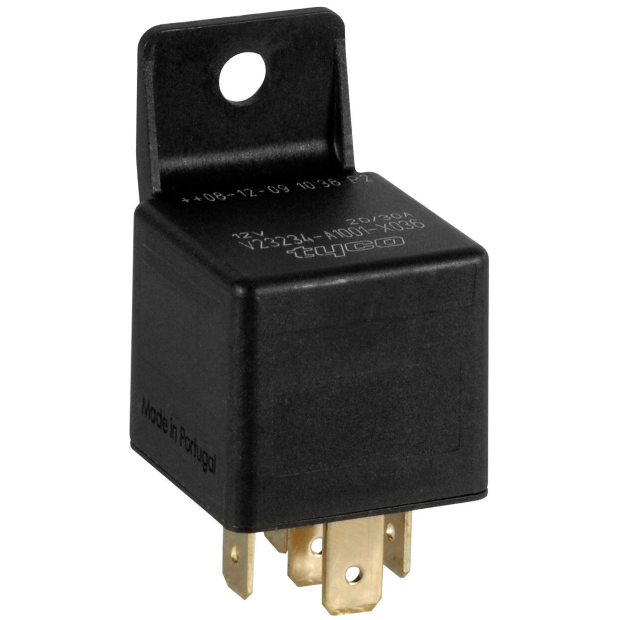 12 vdc tyco 5 pin relay spdt 20 30a formerly bosch. Black Bedroom Furniture Sets. Home Design Ideas