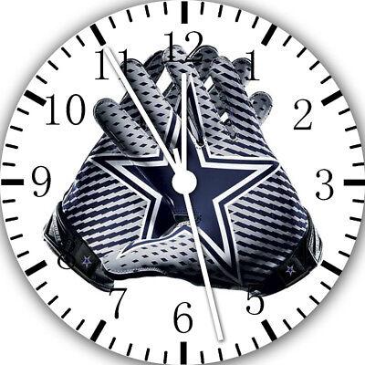 Dallas Cowboys Frameless ohne Grenzen Wanduhr Schön für Geschenke oder Dekor F11 ()