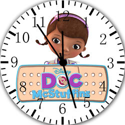 New Doc Mcstuffins wall Clock 10 will be nice Gift and Room wall Decor E02