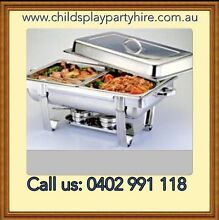 Chafing Dishes, Tables, Chairs and Party Equipment Hire Craigieburn Hume Area Preview