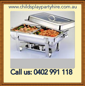 Chafing Dishes, Tables, Chairs and Party Equipment Hire Mickleham Hume Area Preview
