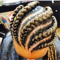Tresses ,coiffure africaine sew in weave box braids and more