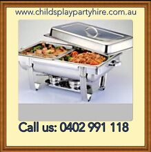Chafing Dishes, Tables, Chairs & Party Equipment Hire Roxburgh Park Hume Area Preview