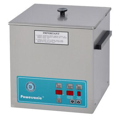 Crest Powersonic 1.5 Gal Digital Ultrasonic Cleaner 132khz Sweep P500d-132