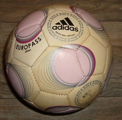 Adidas Match Ball Replica EUROPASS GLIDER UEFA Euro 2008 Soccer Ball Size 4 MINT for sale  Shipping to India