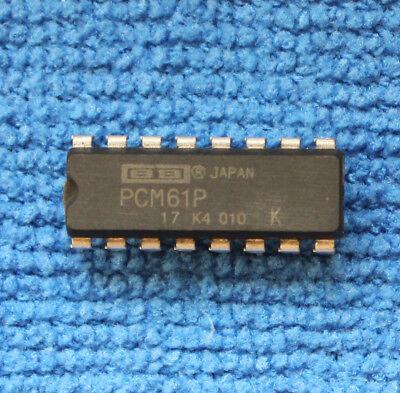 5pcs Pcm61p Audio Dac Ic Burr-brownbb Dip-16