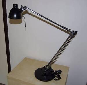 Desk Lamp IKEA 'Antifoni' (matte black) Como South Perth Area Preview