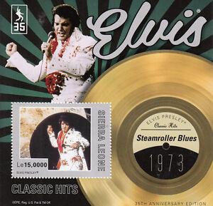 Sierra-Leone-2012-MNH-Elvis-Presley-Classic-Hits-I-1v-S-S-1973-Steamroller-Blues