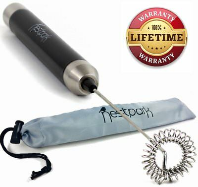 Nestpark Portable Drink Mixer Small Handheld Electric Stick Blender - Cordless