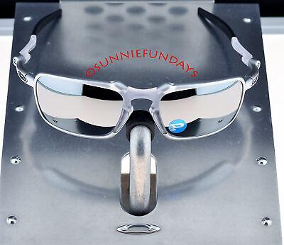 Oakley BADMAN POLARIZED X Ti FRAME w CHROME IRIDIUM Polar $390 NEW OLD (Badman Oakley)