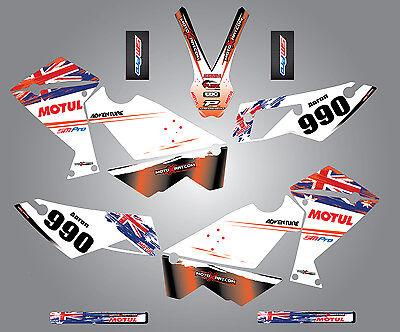 KTM 990 Adventure  Custom Graphic  Kit - Aussie Pride Style / sticker kit