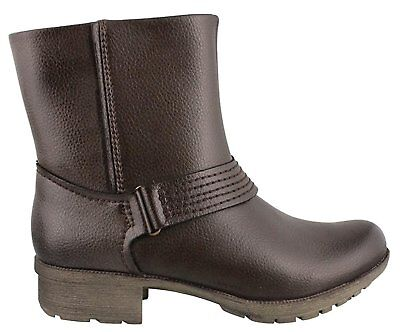 CLARKS WOMEN'S RIDDLE WONDER ANKLE LEATHER BOOT BROWN 5.5 M](Wonder Women Boots)