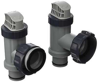 Intex Above Ground Pool Plunger Valves Gaskets Nut Replacement Part 2 -