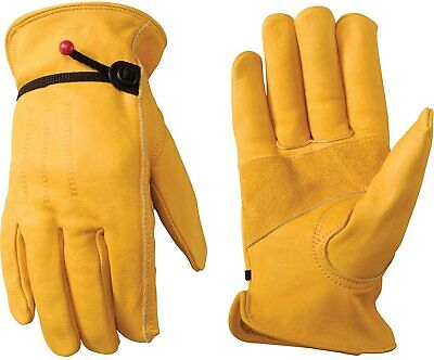 Wells Lamont 1132l Unlined Cowhide Full Leather Driver Gloves