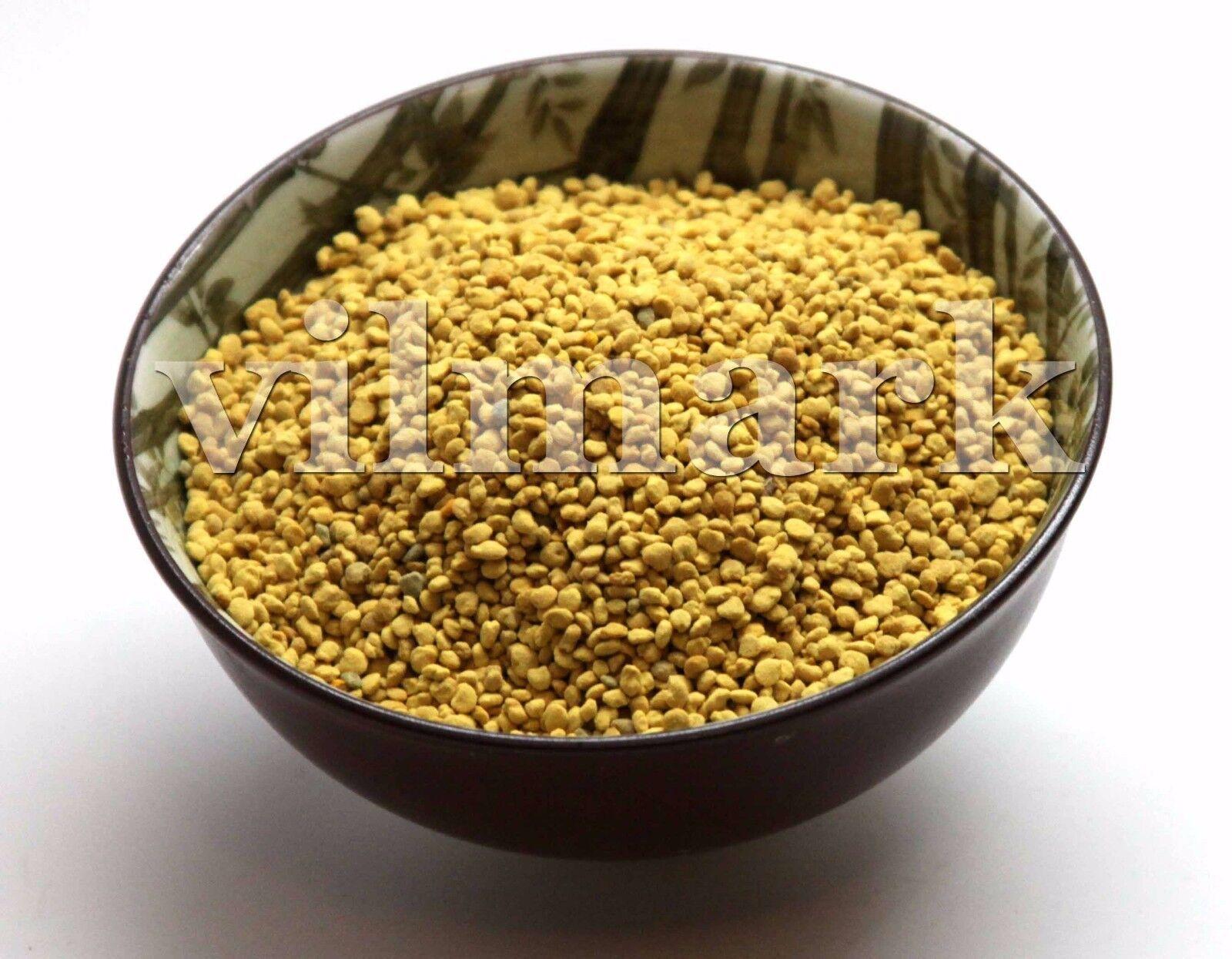 BEE POLLEN Pure Organic Bee Pollen Granules 3 oz FDA Certified 1
