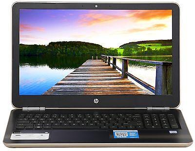 """New HP 15.6"""" Intel Core i5-6200U 2.8 GHz Turbo 8GB Ram 1TB HD DVDRW Win 10 Gold"""