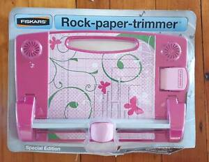 Fiskars Rock Paper Trimmers for Scrapbooking.  Arts and Crafts