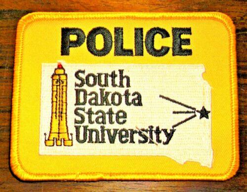 GEMSCO NOS Vintage Patch POLICE - SOUTH DAKOTA STATE UNIVERSITY SD - 25 year old