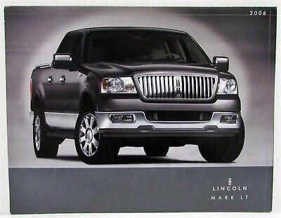 2006 Lincoln Mark LT Folder Canadian