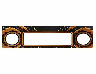 Stern Pinball Pinball Kiss Sticker Speaker Decal Sticker #820-8369-H1